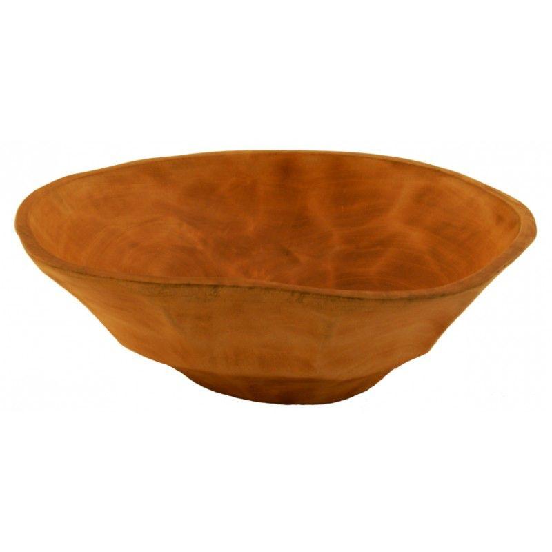 Mango Wood Large Salad Bowl