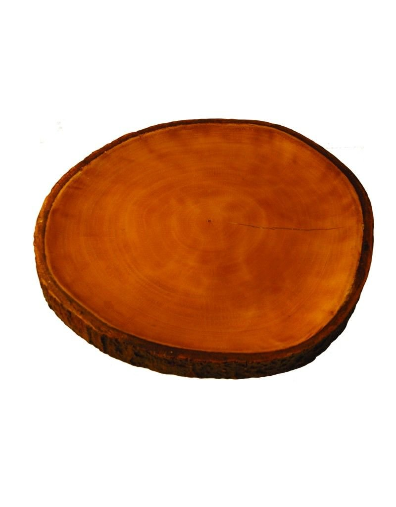 Be Home Mango Wood Platter with Bark
