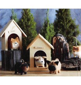 Roost Fat Dog Ornament