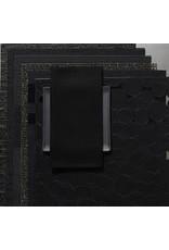 Chilewich Linen Napkin 21x21 BLACK