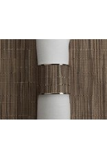 Chilewich Bamboo Stainless1.5 NapkinRing DUNE