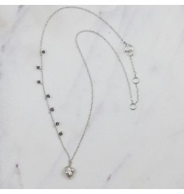 Zenza Delicacy Necklace, Silver and Pearl