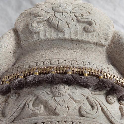 Charming Tassel Bracelet, White