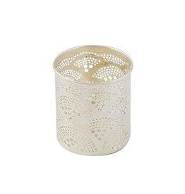 Zenza Waxholder with Fan Design, Nickel