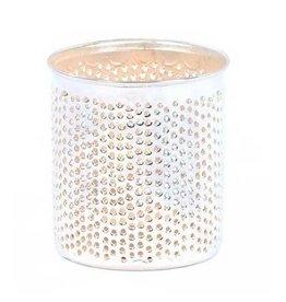 Zenza Filisky Candle Holder, Silver