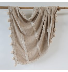 Zenza Nomad Throw, Taupe
