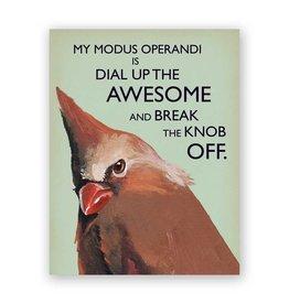Modus Operandi Card