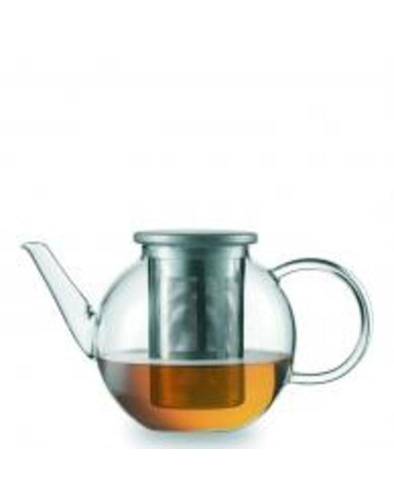 Fortessa Jenaer Glas Good Mood Teapot w/SS lid and strainer