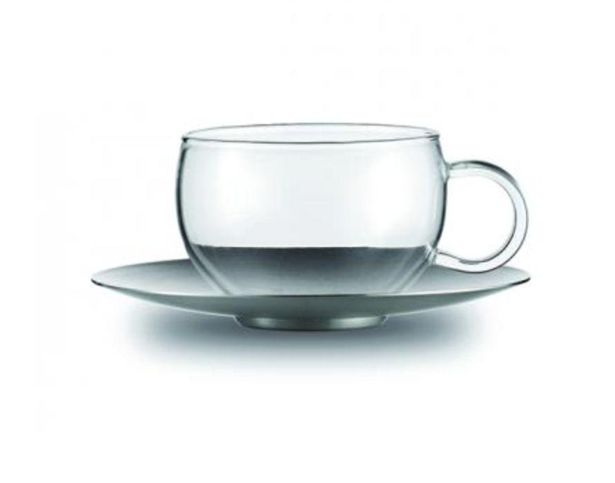 Jenaer Glas Good Mood Cup w/SS Saucer