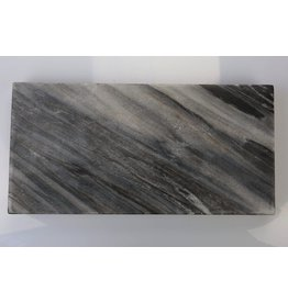 Be Home Marble/Mango Reversible Rectangular Board, Small - Blue