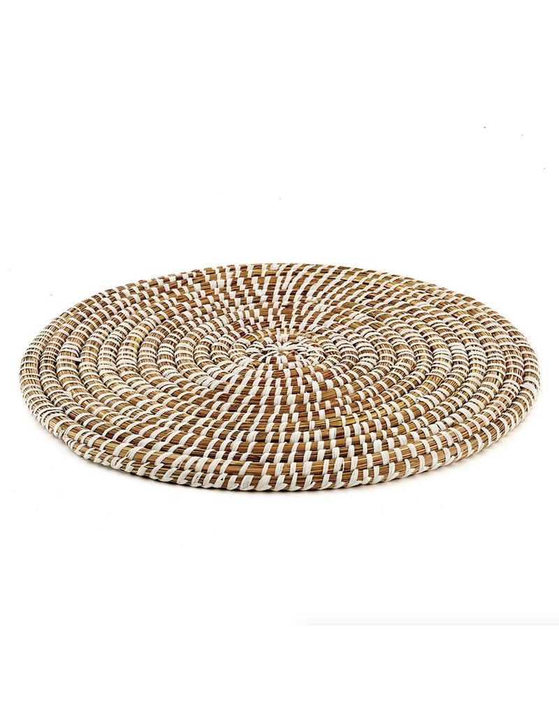 Napa Home And Garden RIVERGRASS ROUND PLACEMAT