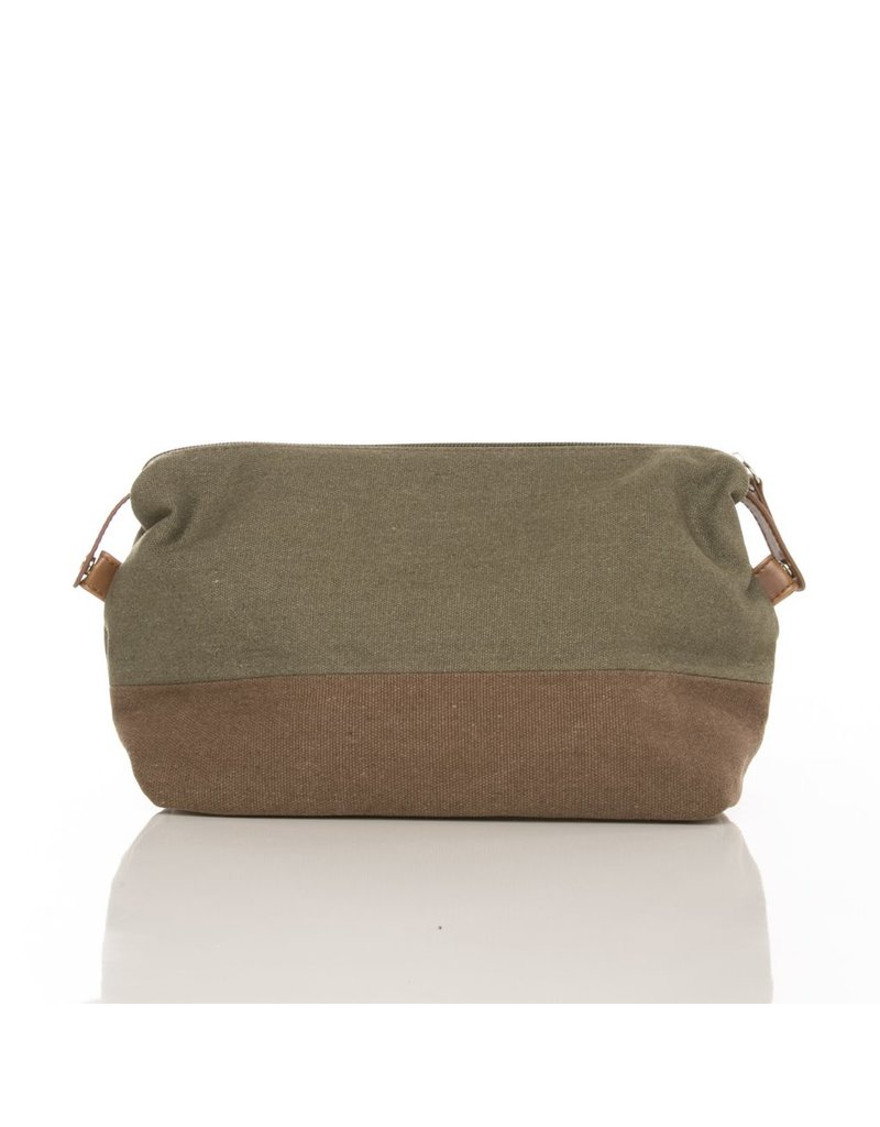 Brouk Toiletry Bag - Military Green