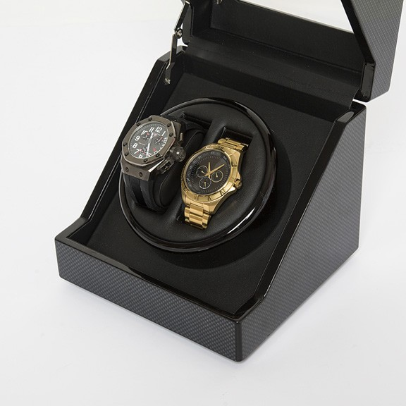 Carbon Fiber Wooden Watch Winder