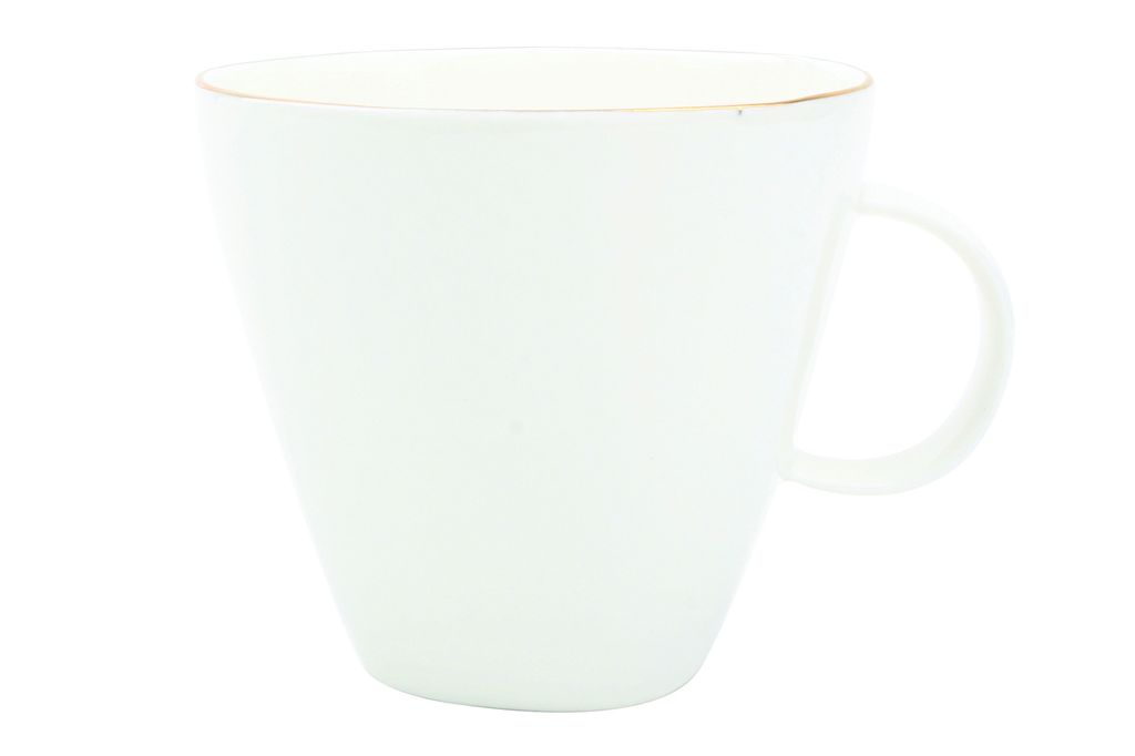 Abbesses Cup White in Gold