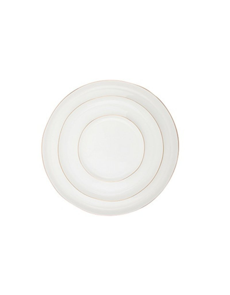 Canvas Home Abbesses Plate in Gold, Medium