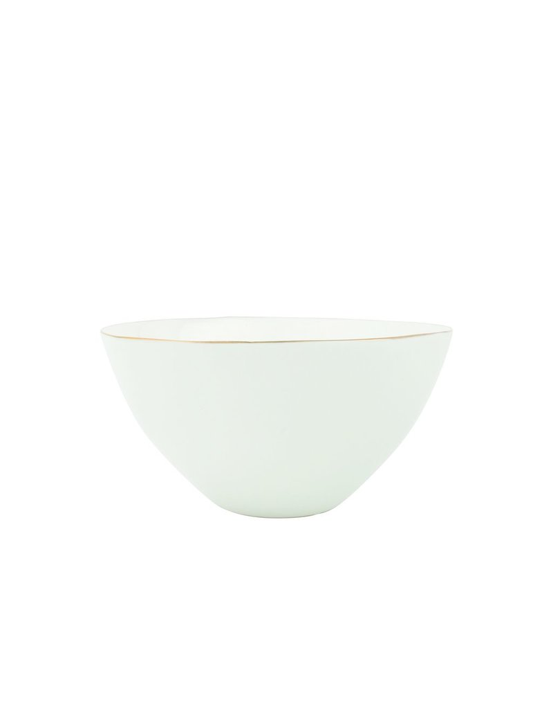 Canvas Home Abbesses Bowl in Gold, Medium