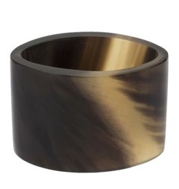 Buffalo Horn Napkin Ring - Oval