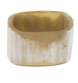 Buffalo Horn Napkin Ring - Rectangle