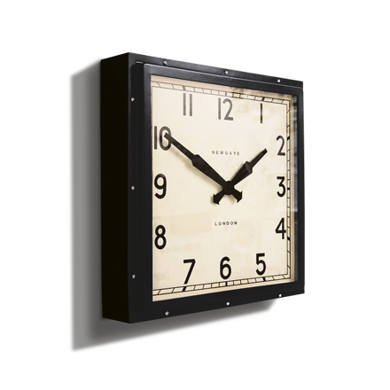 The Embankment Clock- Black