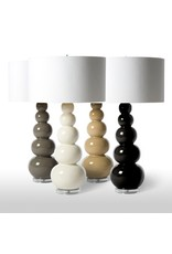 Barbara Cosgrove Grey Clay Gourds Lamp