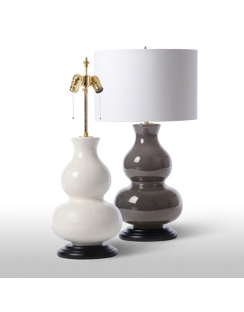 Barbara Cosgrove White Double Gourd Lamp