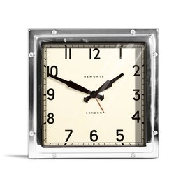 Newgate Mini Quad Alarm Clock- Chrome