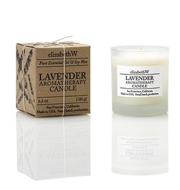 Lavender Aromatherapy Candle, 6.5 oz.