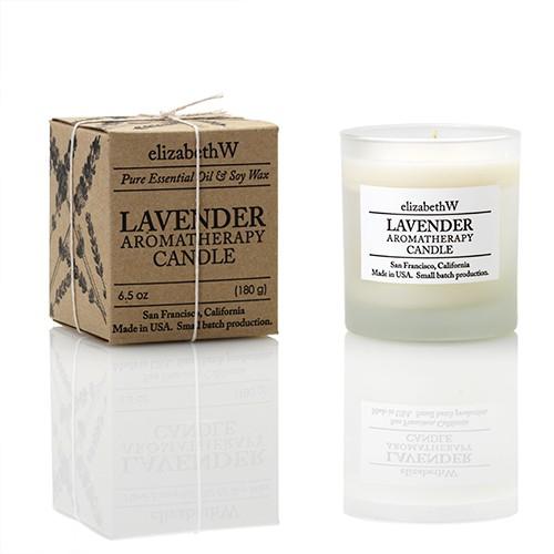 Lavender Aromatherapy Candle, 6.5 oz.
