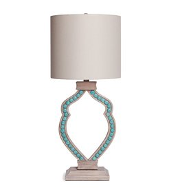 Turquoise Cabochon Lamp