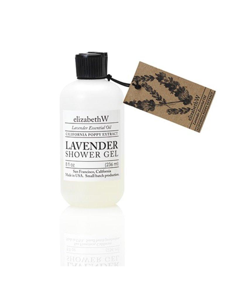 Elizabeth W Lavender Shower Gel, 8 fl.oz.