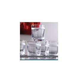 Global Views Double Old Fashioned Glass, One-band