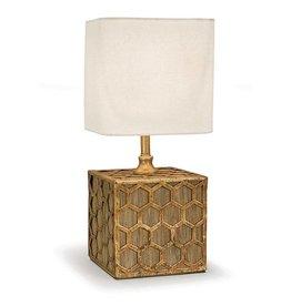 Regina Andrew Gold Honeycomb Mini Table Lamp