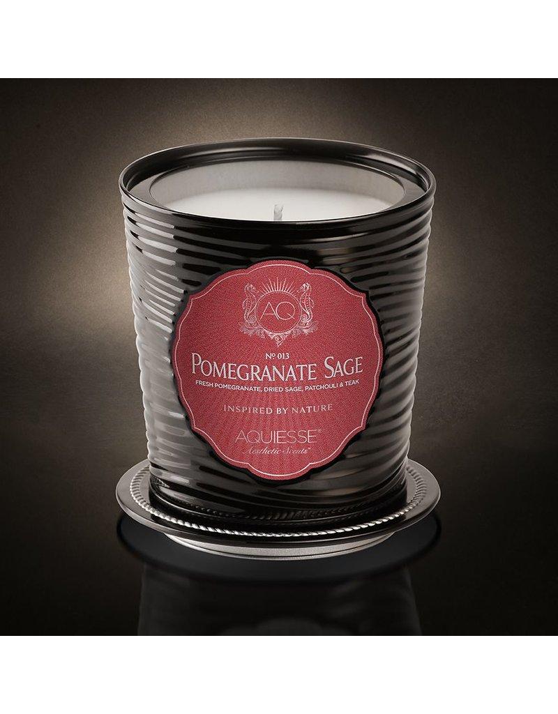 Aquiesse POMEGRANATE SAGE Tin Candle