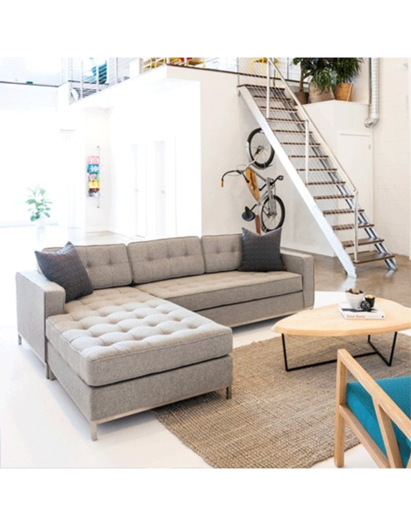 ... Gus* Modern Jane Biu2014Sectional Stainless Steel Base  sc 1 st  Urbane Home and Lifestyle : gus modern jane bi sectional - Sectionals, Sofas & Couches