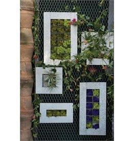 Zinc Wall Planter