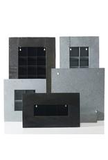 "Accent Decor Zinc Wall Planter - 17.5x3.5"""