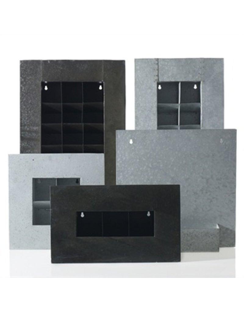 accent decor zinc wall planter 17 5x3 5