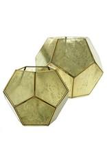 Accent Decor Golden Lantern