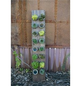 Accent Decor Vertical Garden w/16 Pots