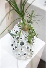 "Seaside Vase - 11.75x6.5x6"""