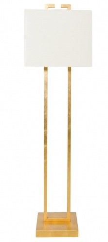 Ethan Floor Lamp in Gold Leaf