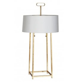 Worlds Away Mondo Lamp in Nickel