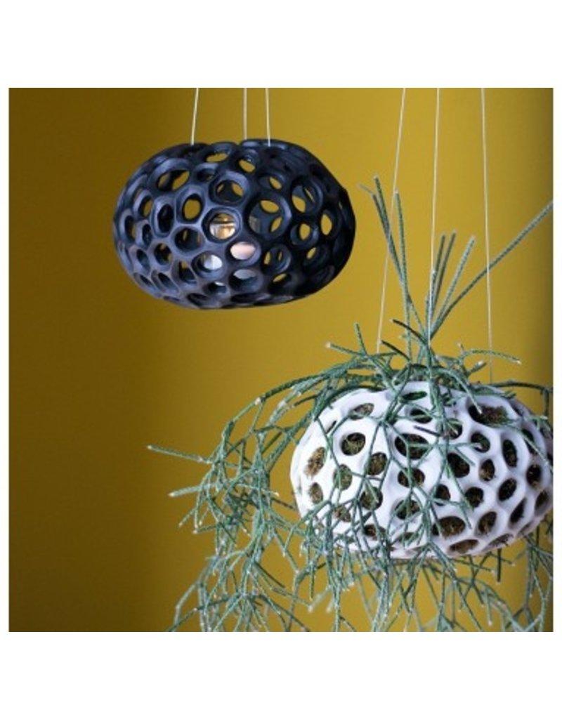Gold Leaf Design Group Sponge Hanging Sculpture Black