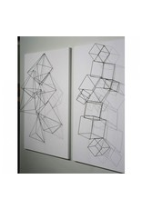 Wire Cubes, Set of 4