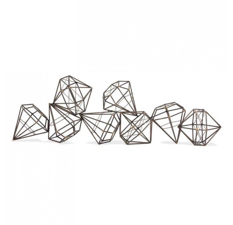 "Gem Diamond Sculpture - 48"""