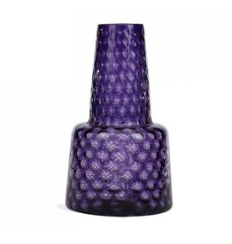 "Gold Leaf Design Group Opic Glass Vase 16"" - Amethyst"