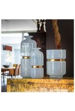 "Milk Glass Vase, 11.25"" Tall"