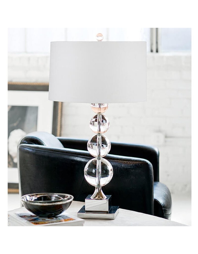 Regina andrew modern stacked crystal sphere table lamp regina andrew modern stacked crystal sphere table lamp mozeypictures Choice Image