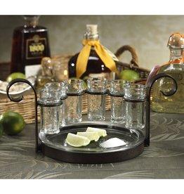 Zodax Fiesta Six-shot Tequila Set