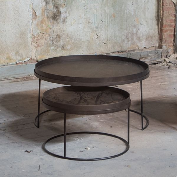 Large Low Round Table Base